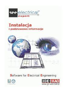 1. Instalacja programu SEE Electrical Expert