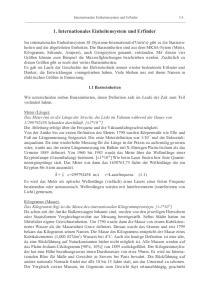 1. Internationales Einheitensystem und Erfinder