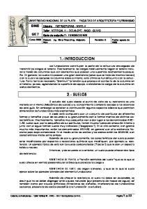 1.-INTRODUCCION 2.- SUELOS