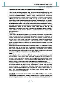 1.-ISABEL ALLENDE EN EL MARCO DE LA NARRATIVA HISPANOAMERICANA