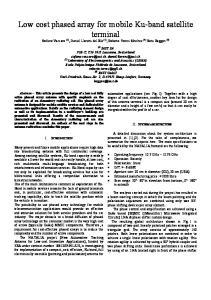 (1) JAST SA PSE-C, CH-1015 Lausanne, Switzerland  (2)