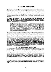 1. LA FLEXIBILIDAD NECESARIA