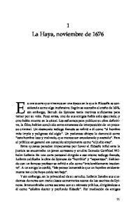 1 La Haya, noviembre de 1676