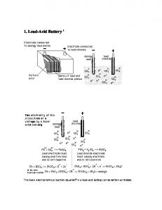 1. Lead-Acid Battery 1
