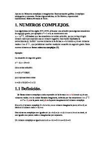 1. NUMEROS COMPLEJOS