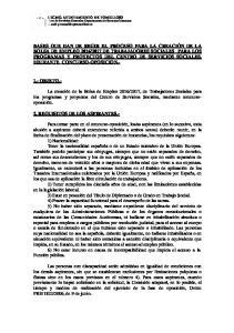 1.- OBJETO.- 2. REQUISITOS DE LOS ASPIRANTES.-