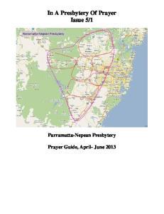 1. Parramatta-Nepean Presbytery