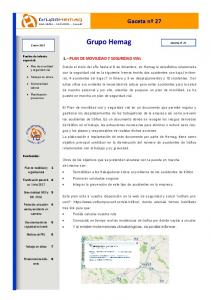1. PLAN DE MOVILIDAD Y SEGURIDAD VIAL