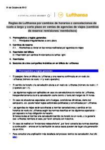 1. Prerrequisitos y reglas generales