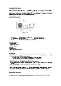 1. Product Description. 2. Product Overview