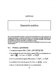 1 + r, y = y 1 + ry Si P es el punto medio del segmento P 1 P 2, entonces x = x 1 + x 2 2