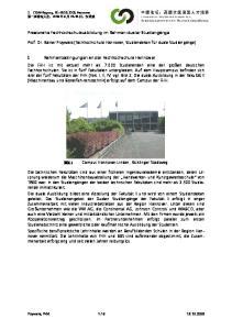 1 Rahmenbedingungen an der Fachhochschule Hannover