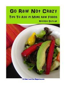 1 Raw Food Diet Magazine.com