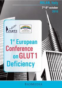 1 st European Conference on Glut1 Deficiency