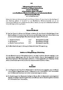 1 Studieninhalt (Module)