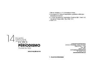 1. TALLER DE PERIODISMO
