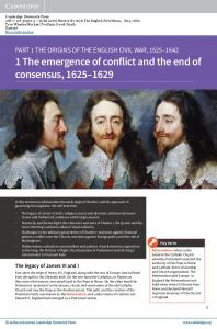 1 The emergence of conflict and the end of consensus,