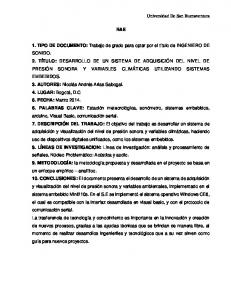 1. TIPO DE DOCUMENTO: