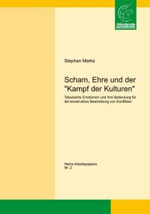 1. Was ist Scham? Stephan Marks: Scham Ehre und der