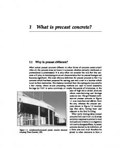 1 What is precast concrete?