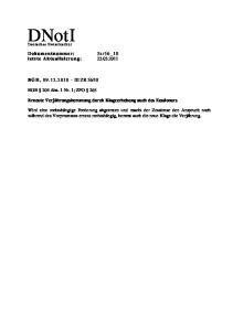 10. BGB 204 Abs. 1 Nr. 1; ZPO 265