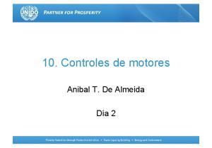 10. Controles de motores