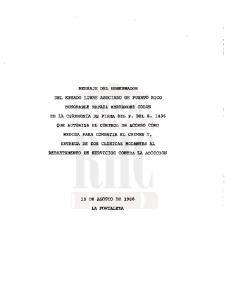10 DE AGOSTO DE 1988 LA FORTALEZA