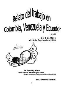 (10) Del 9 de Mayo al 10 de Septiembre 2010
