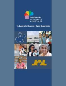 10. Desarrollo Humano y Social Sustentable