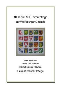 10 Jahre AG Heimatpflege
