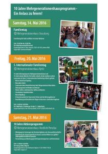 10 Jahre Mehrgenerationenhausprogramm - Ein Anlass zu feiern!