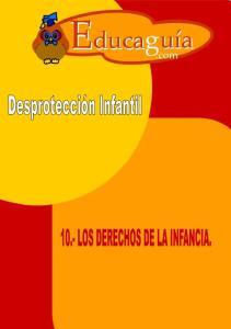 10.- LOS DERECHOS DE LA INFANCIA