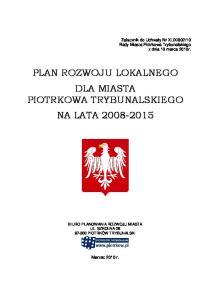 10 Rady Miasta Piotrkowa Trybunalskiego z dnia 10 marca 2010r