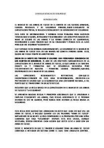 10 REGLAS BÁSICAS DE SEGURIDAD INTRODUCCIÓN