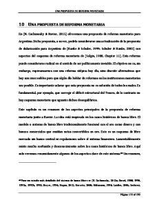 10 UNA PROPUESTA DE REFORMA MONETARIA