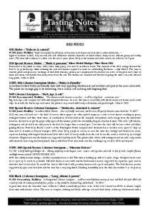 100 James Halliday 2014 Special Reserve Merlot Plush & generous Silver Medal Mudgee Wine Show 2015