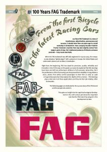 100 Years FAG Trademark