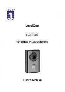 100Mbps IP Network Camera