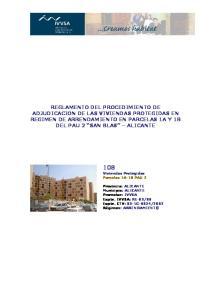 108 Viviendas Protegidas Parcelas 1A-1B PAU 2