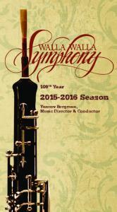 109 th Year Season. Yaacov Bergman, Music Director & Conductor
