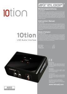 10tion USB audio-interface