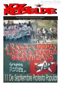 11 De Septiembre Protesta Popular