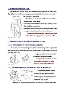 11. INTERSECCIONES DE PLANOS