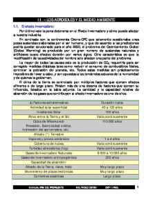 11 -- LOS AEROSOLES Y EL MEDIO AMBIENTE