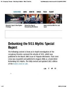 11 Myths: Special Report