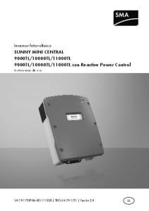 11000TL con Reactive Power Control
