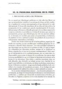 111. EL PROBLEMA NACIONAL EN EL PERU