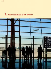 12 1. How Globalized is the World? 1. How Globalized is the World?