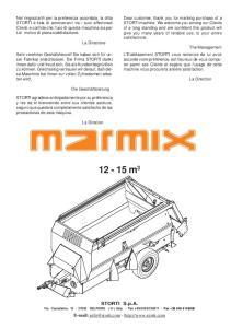 12-15 m 3. STORTI S.p.A. Via Castelletto, BELFIORE ( Vr ) Italy - Tel Fax