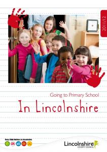 12. Going to Primary School. In Lincolnshire